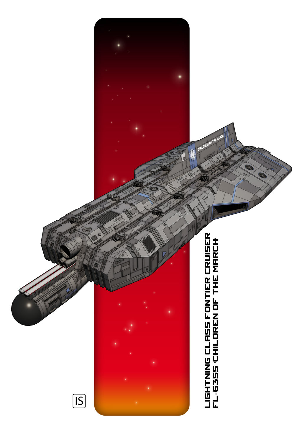 Lightning Class Frontier Cruiser by biomass