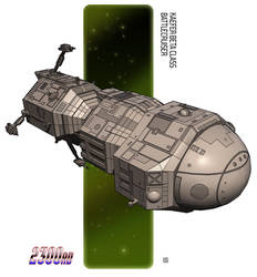 Kaefer Beta Battlecruiser by biomass