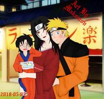 NarutoArt #3 NaruXKurenai by MaksmoNero