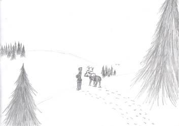 Frozen Hills by blackrosedragon491