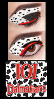 101 Dalmatians Make Up by Lally-Hime