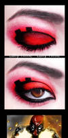 The Villains- Deadpool Make Up by Lally-Hime