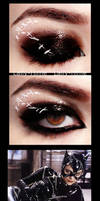 The Villains- Catwoman Make Up by Lally-Hime