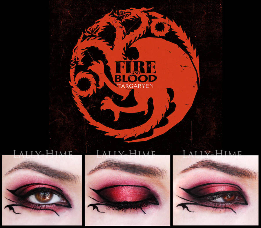 House Targaryen- Make-Up by Lally-Hime