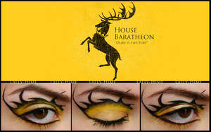 House Baratheon - Make-Up by Lally-Hime