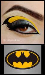 Batman Makeup by Lally-Hime