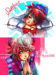 eyes so blue. by sepiablue