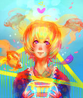 Tosakin Telepathy by sepiablue