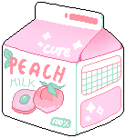 [F2U] peach milk by ivaliii