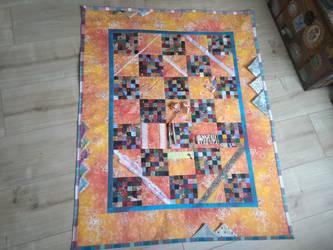 Alzheimer Quilt (Nestel-Decke) by MrsQuilty