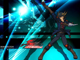 10th Anime Wallpaper - Yusei by Fivian