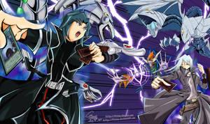 Hell Kaiser VS Shinigami Kiryu by Fivian