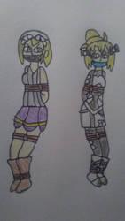 Kana and Morgan: DID 2 by SkySamurai83
