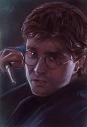 Harry Potter Sketch Card 2 by Ethrendil