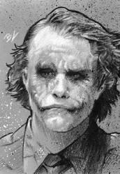 Joker black and white PSC by Ethrendil