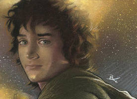 Frodo sketch card 2 by Ethrendil