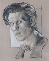 Matt Smith sketch by Ethrendil