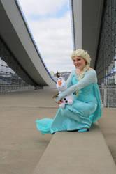 Snow Queen Elsa by crystaltearsoflove