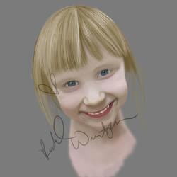 WIP Portrait by beachgecko