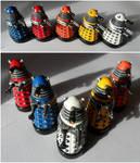1 Inch Daleks by JWBeyond