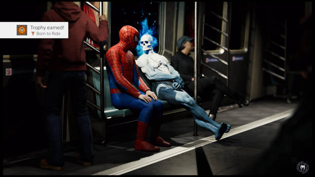 Marvel's Spider-Man Trophy by JWBeyond