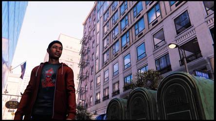 Miles Morales PS4 by JWBeyond