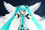 Angelic Miku by jfonline