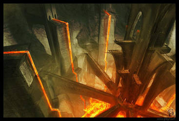 Lava environment by gregmks