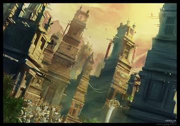 Asian City by gregmks