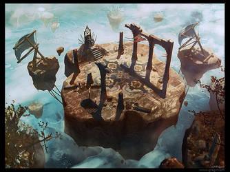 Lost flying throne by gregmks