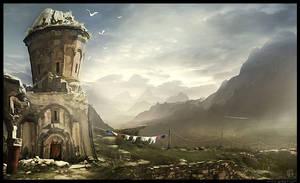 Strange Landscape by gregmks