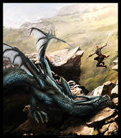 The dragon hunter by gregmks