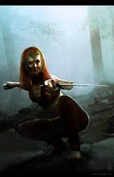 Witch Warrior by gregmks
