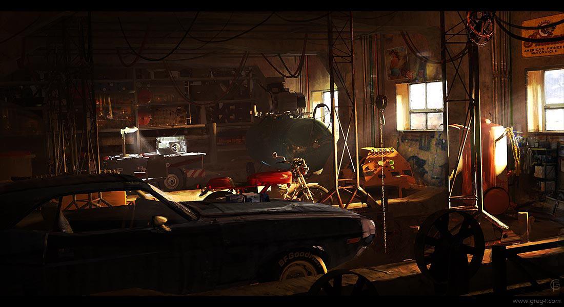 Garage by gregmks