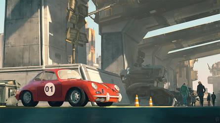 Porsche 356 by gregmks
