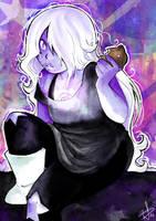 Watercolor Amethyst by CrayonPrincess