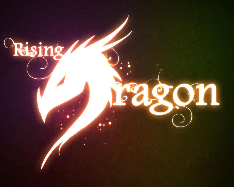 Rising Dragon logo by RisingDragonArt