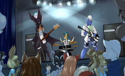 Concert by RisingDragonArt