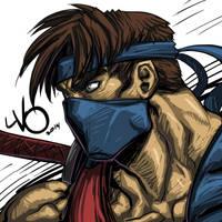 Digital Sketch Warm up 49 - Jago Killer Instinct by Vostalgic