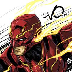 Digital Sketch Warm up 53 - Playarts Kai Flash by Vostalgic