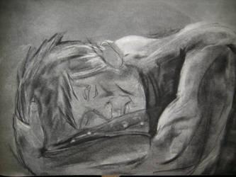 Sleeping Man by Korra