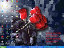 'The Rose' Wallpaper by Korra