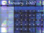 January Calender by Korra