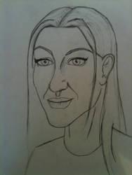 Lauren Keller Facial Concept (incomplete) by HarryJPotter