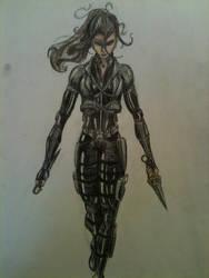 Lauren Keller Character Concept by HarryJPotter
