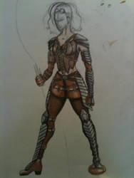 Jessica Jackson Armor Concept by HarryJPotter