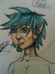 Male Pixie Concept by HarryJPotter