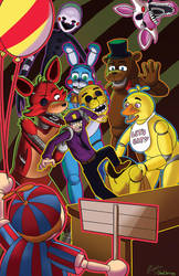 Five Night's at Freddy's by OneChrispy