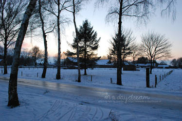 Winter evening by in-a-daydream