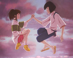 .:Spirited Away:. by Ede1986